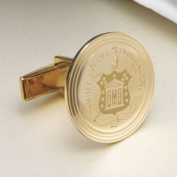 Trinity College 14K Gold Cufflinks - Image 2