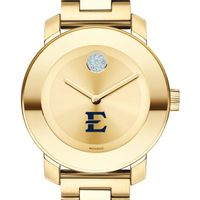 East Tennessee State University Women's Movado Gold Bold