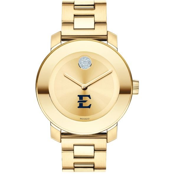 East Tennessee State University Women's Movado Gold Bold - Image 2