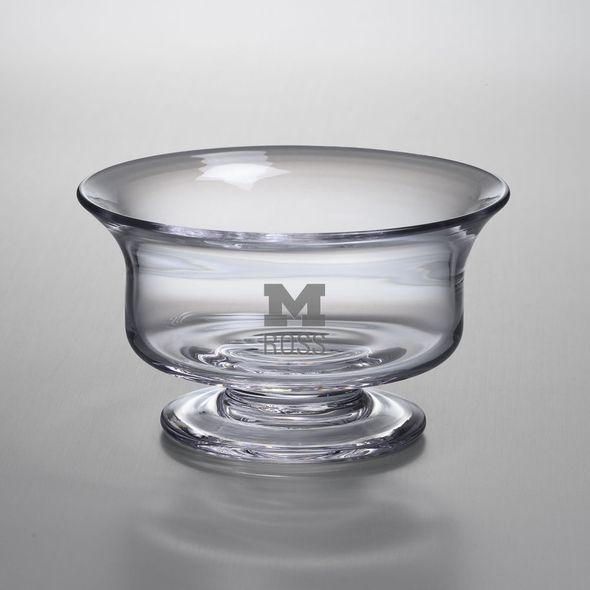 Michigan Ross Simon Pearce Glass Revere Bowl Med - Image 1