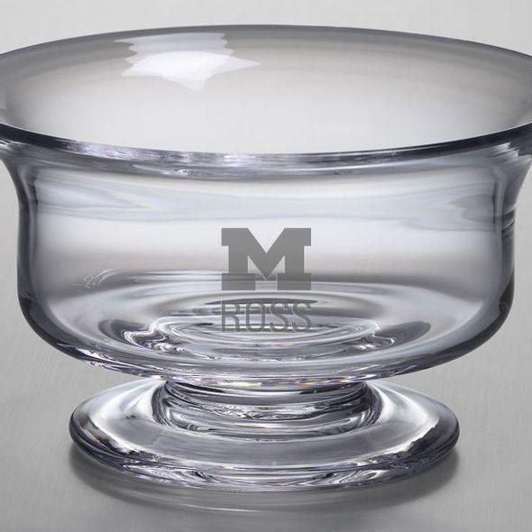 Michigan Ross Simon Pearce Glass Revere Bowl Med - Image 2