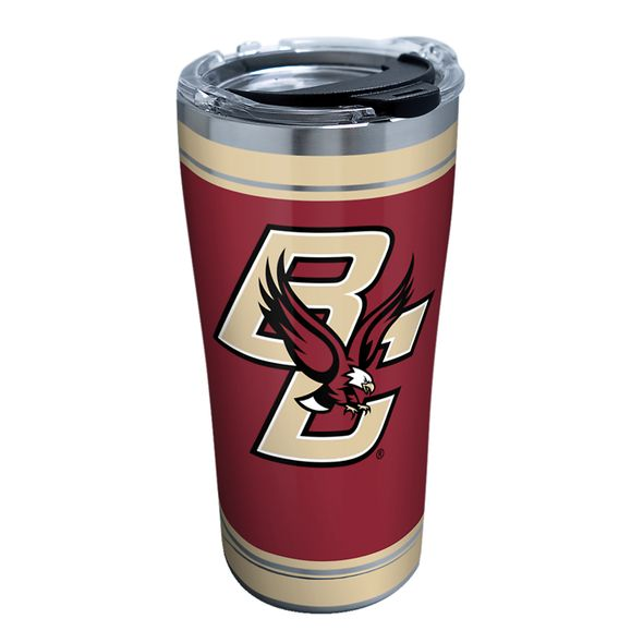 Boston College 20 oz. Stainless Steel Tervis Tumblers with Hammer Lids - Set of 2