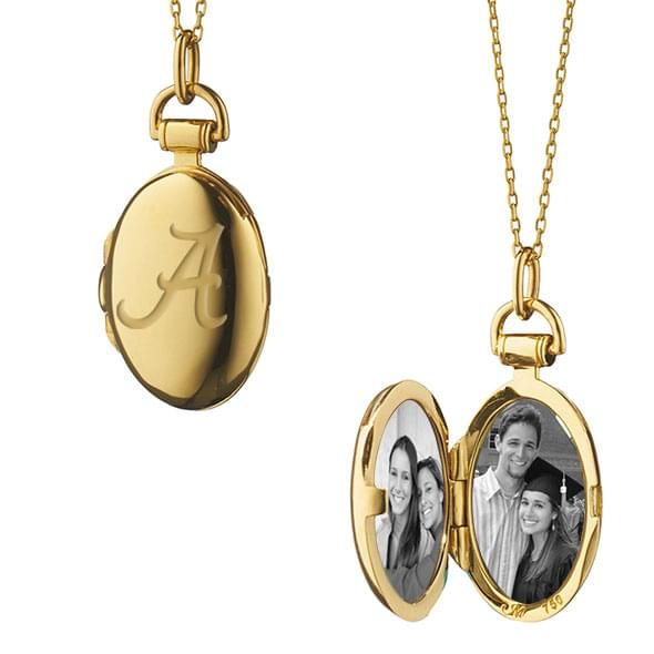 Alabama Monica Rich Kosann Petite Locket in Gold - Image 2