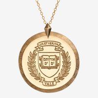 Yale 14K Gold Florentine Necklace by Kyle Cavan