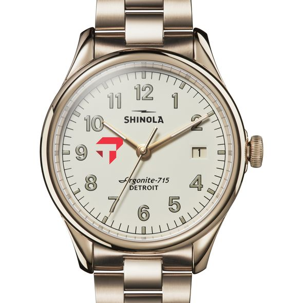 Tepper Shinola Watch, The Vinton 38mm Ivory Dial - Image 1