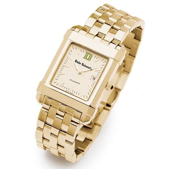 Duke Men's Gold Quad Watch with Bracelet - Image 2