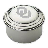Oklahoma Pewter Keepsake Box