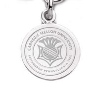 Carnegie Mellon University Sterling Silver Charm