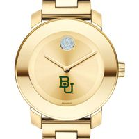 Baylor University Women's Movado Gold Bold
