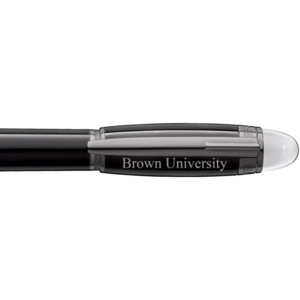 Brown University Montblanc StarWalker Fineliner Pen in Ruthenium - Image 2