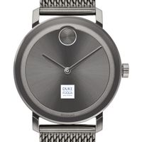 The Fuqua School of Business Men's Movado BOLD Gunmetal Grey with Mesh Bracelet