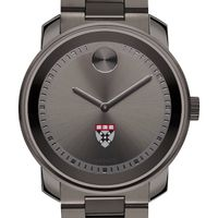 Harvard Business School Men's Movado BOLD Gunmetal Grey