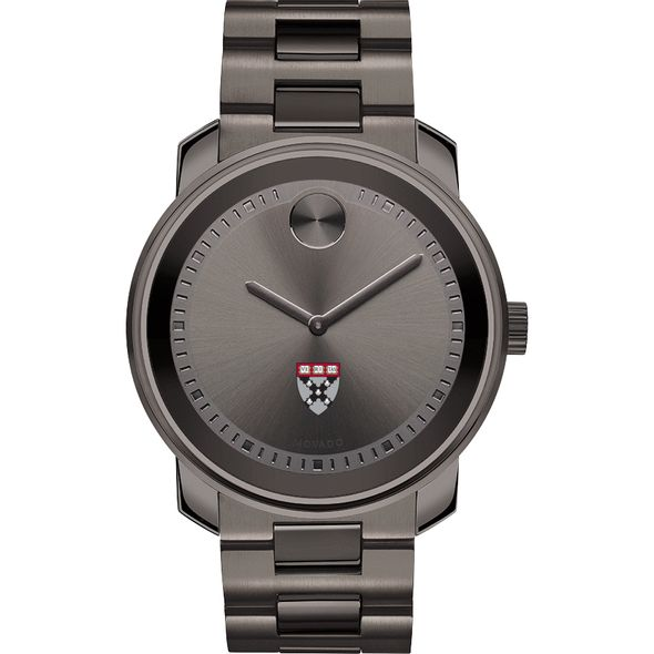 Harvard Business School Men's Movado BOLD Gunmetal Grey - Image 2
