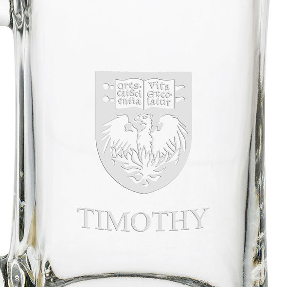 UChicago 25oz Glass Stein - Image 3
