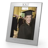 Kappa Kappa Gamma Polished Pewter 8x10 Picture Frame