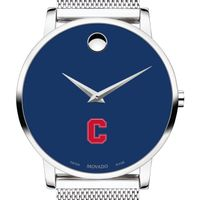 Cornell University Men's Movado Museum with Blue Dial & Mesh Bracelet