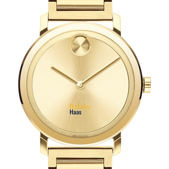 Berkeley Haas Men's Movado Bold Gold with Bracelet - Image 1