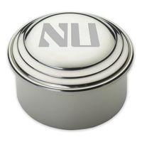 Northwestern Pewter Keepsake Box