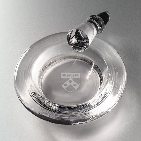 Penn Glass Wine Coaster by Simon Pearce