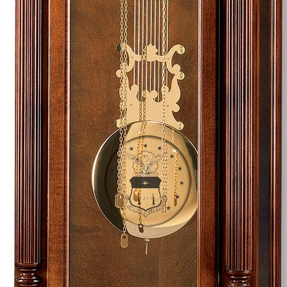 Air Force Academy Howard Miller Grandfather Clock - Image 2