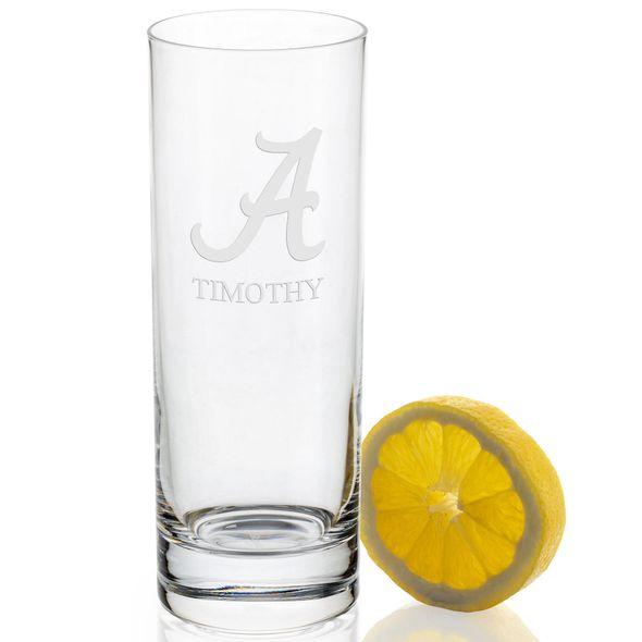 University of Alabama Iced Beverage Glasses - Set of 2 - Image 2