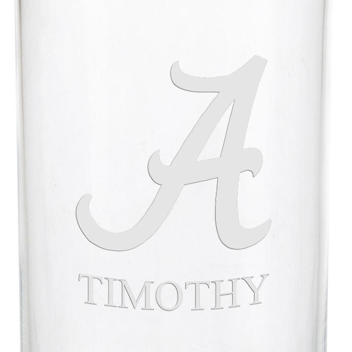 University of Alabama Iced Beverage Glasses - Set of 2 - Image 3