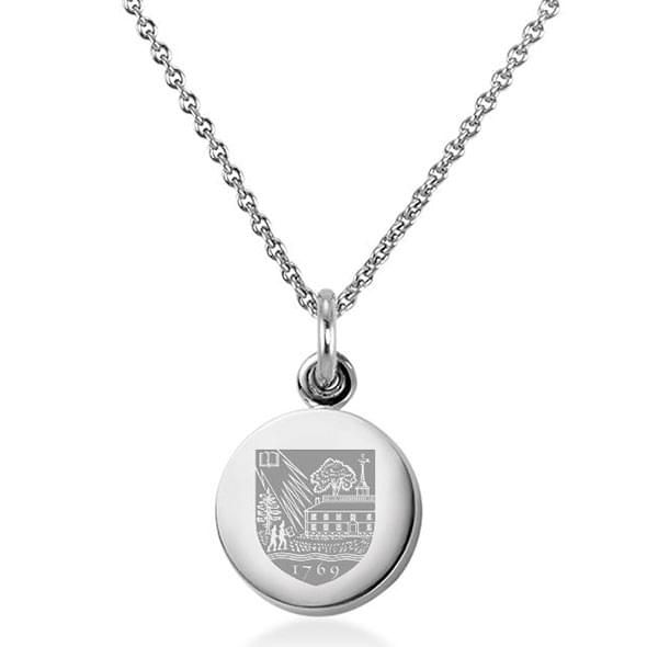Dartmouth College Necklace with Charm in Sterling Silver - Image 1