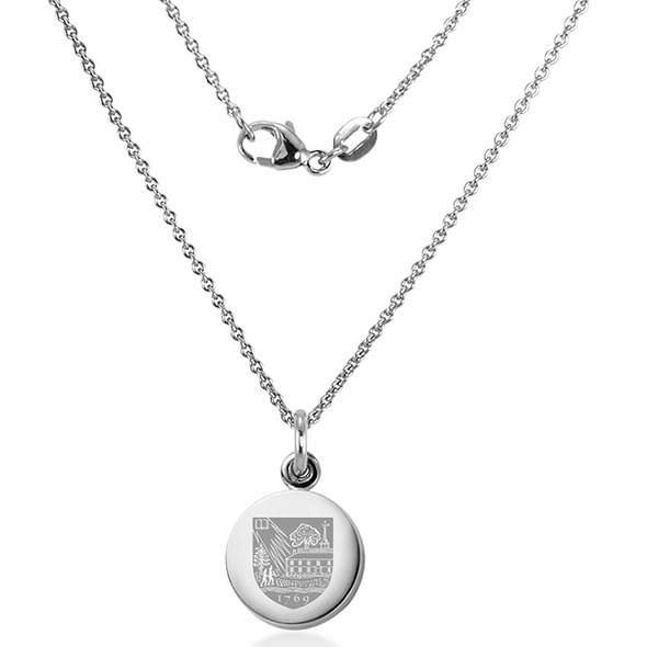 Dartmouth College Necklace with Charm in Sterling Silver - Image 2