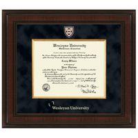 Wesleyan Diploma Frame - Excelsior