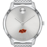 Oklahoma State University Women's Movado Stainless Bold 35