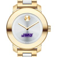 James Madison University Women's Movado Two-Tone Bold