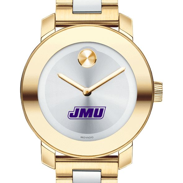 James Madison University Women's Movado Two-Tone Bold