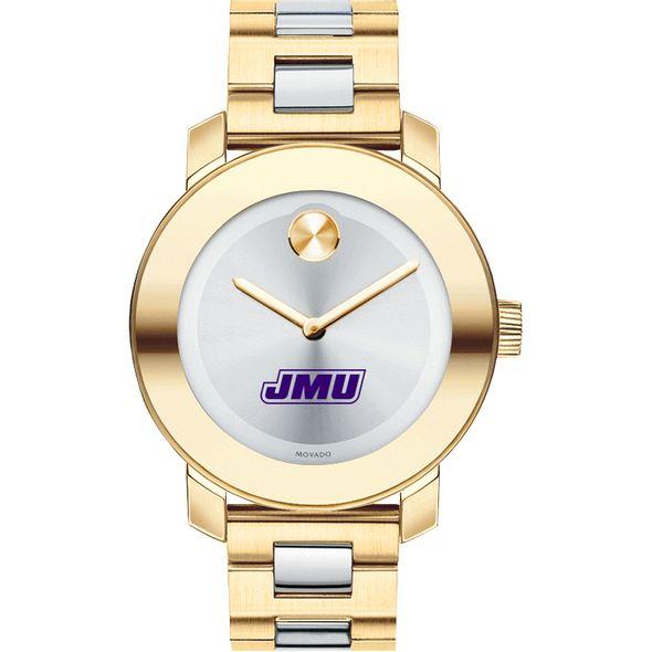 James Madison University Women's Movado Two-Tone Bold - Image 2