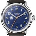 Loyola Shinola Watch, The Runwell Automatic 45mm Royal Blue Dial - Image 1
