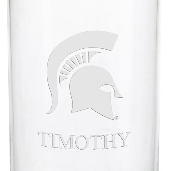 Michigan State University Iced Beverage Glasses - Set of 2 - Image 3