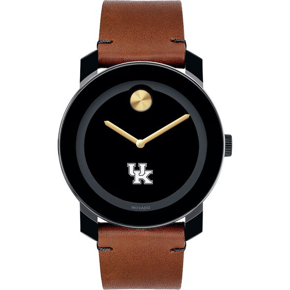 University of Kentucky Men's Movado BOLD with Brown Leather Strap - Image 2