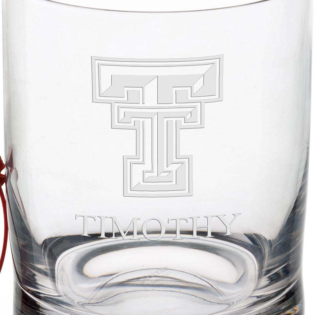 Texas Tech Tumbler Glasses - Set of 4 - Image 3