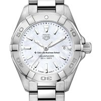 Columbia Business Women's TAG Heuer Steel Aquaracer w MOP Dial