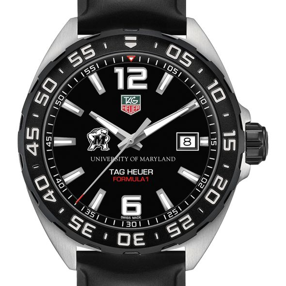 University of Maryland Men's TAG Heuer Formula 1 with Black Dial
