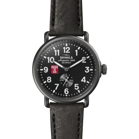 Temple Shinola Watch, The Runwell 41mm Black Dial - Image 2