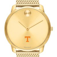 Tennessee Men's Movado Bold Gold 42 with Mesh Bracelet