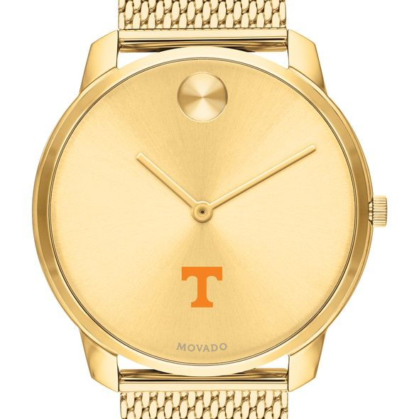 Tennessee Men's Movado Bold Gold 42 with Mesh Bracelet - Image 1