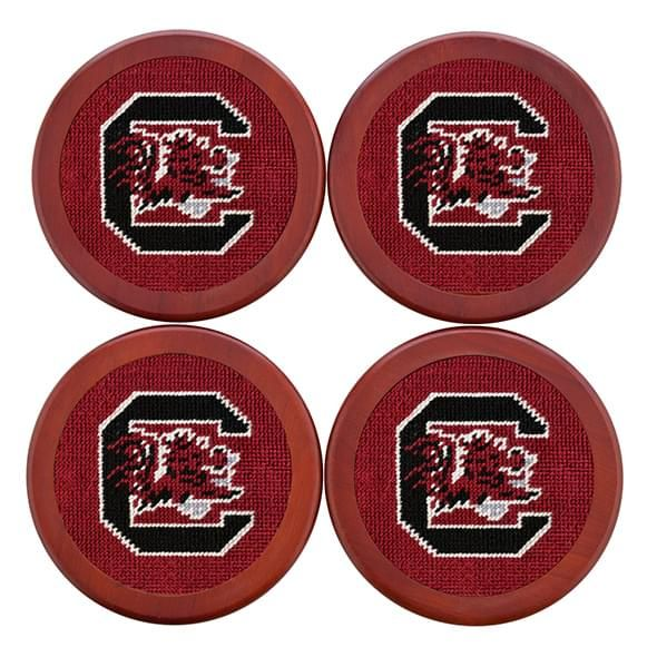 South Carolina Needlepoint Coasters