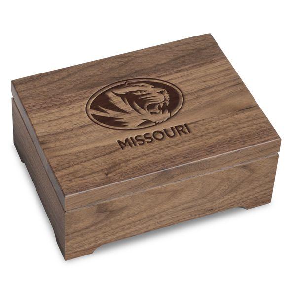 University of Missouri Solid Walnut Desk Box