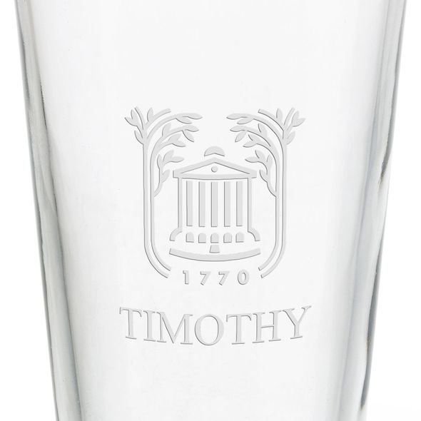 College of Charleston 16 oz Pint Glass - Image 3