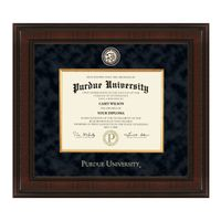 Purdue University Masters/PhD Diploma Frame - Excelsior