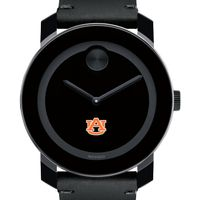 Auburn Men's Movado BOLD with Leather Strap