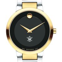 College of William & Mary Men's Movado Two-Tone Modern Classic Museum with Bracelet