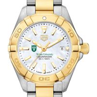 Tulane University TAG Heuer Two-Tone Aquaracer for Women