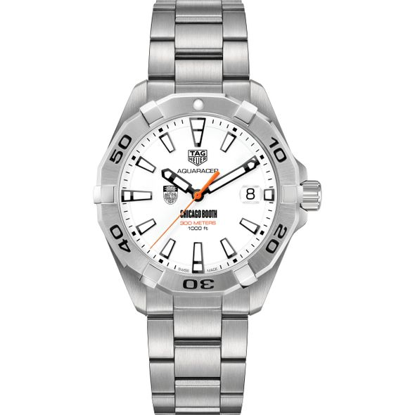 Chicago Booth Men's TAG Heuer Steel Aquaracer - Image 2
